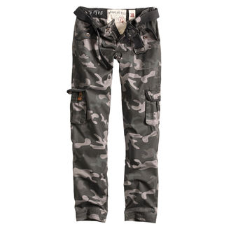 Pantaloni femei SURPLUS - PREMIUM SLIMMY - BLACK CAMO, SURPLUS