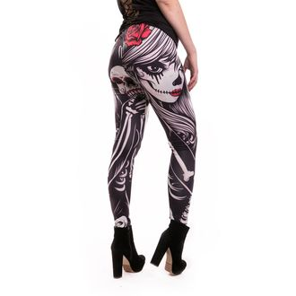 Pantaloni femei (colanți) VIXXSIN - CROW - BLACK, VIXXSIN