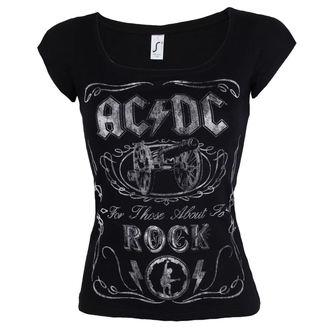 tricou stil metal femei AC-DC - Canon Swig - ROCK OFF, ROCK OFF, AC-DC