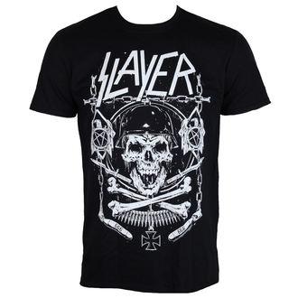 tricou stil metal bărbați Slayer - Skull & Bones - ROCK OFF, ROCK OFF, Slayer