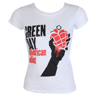 tricou stil metal femei Green Day - American Idiot - ROCK OFF, ROCK OFF, Green Day