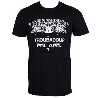 tricou stil metal bărbați Guns N' Roses - Troubadour - ROCK OFF, ROCK OFF, Guns N' Roses
