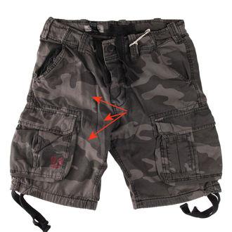 Pantaloni scurți bărbați SURPLUS - Airborne vintage - Black Come - DAMAGED, SURPLUS