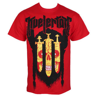 tricou stil metal bărbați Kvelertak - 3 Swords Red - KINGS ROAD, KINGS ROAD, Kvelertak