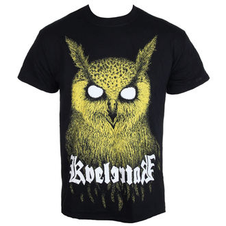 tricou stil metal bărbați Kvelertak - Barlett Owl Yellow - KINGS ROAD, KINGS ROAD, Kvelertak
