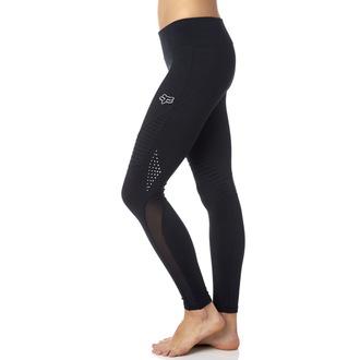 Pantaloni femei (colanți) FOX - Moto - Black, FOX