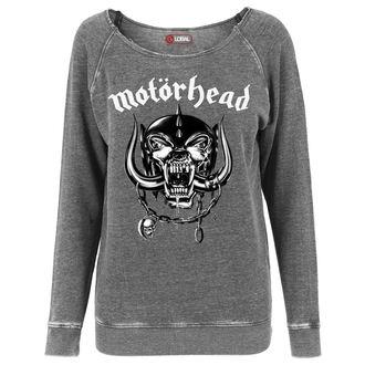 hanorac femei Motörhead - Logo Burnout Open Edge - URBAN CLASSICS, URBAN CLASSICS, Motörhead