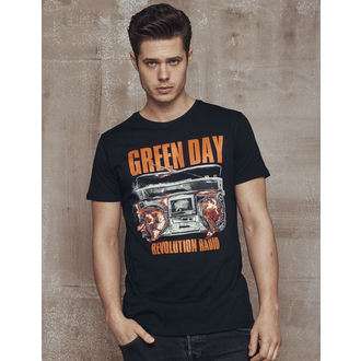 tricou stil metal bărbați Green Day - Radio -, Green Day