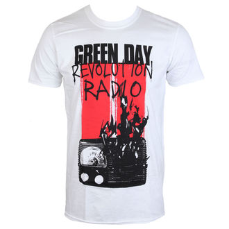 tricou stil metal bărbați Green Day - RADIO COMBUSTION - PLASTIC HEAD, PLASTIC HEAD, Green Day