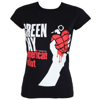 tricou stil metal femei Green Day - AMERICAN IDIOT - PLASTIC HEAD, PLASTIC HEAD, Green Day