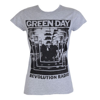 tricou stil metal femei Green Day - POWER SHOT - PLASTIC HEAD, PLASTIC HEAD, Green Day