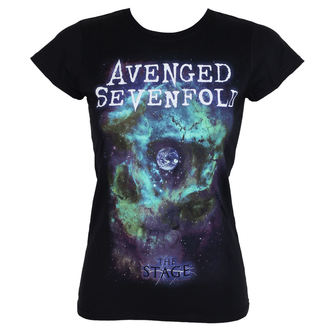 tricou stil metal femei Avenged Sevenfold - SPACE FACE - PLASTIC HEAD - RTAVS009