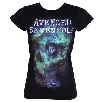 tricou stil metal femei Avenged Sevenfold - SPACE FACE - PLASTIC HEAD, PLASTIC HEAD, Avenged Sevenfold
