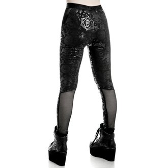Pantaloni femei (colanți) KILLSTAR - Ruthless Taste It - Black, KILLSTAR