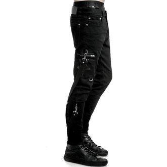 Pantaloni bărbaţi KILLSTAR - Death Trap - Black, KILLSTAR