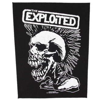 Petic THE  EXPLOITED - VINTAGE SKULL - RAZAMATAZ, RAZAMATAZ, Exploited