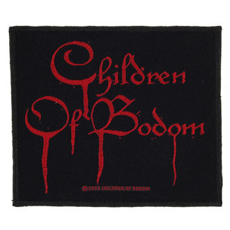 Petic CHILDREN OF BODOM - BLOOD LOGO - RAZAMATAZ, RAZAMATAZ, Children of Bodom
