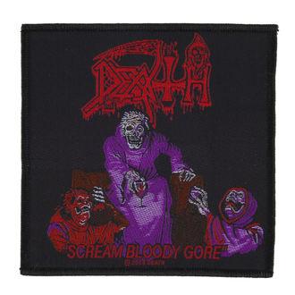 Petic DEATH - SCREAM BLOODY GORE - RAZAMATAZ, RAZAMATAZ, Death