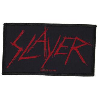 Petic SLAYER - SCRATCHED LOGO - RAZAMATAZ, RAZAMATAZ, Slayer