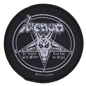 Petic VENOM - IN LEAGUE WITH SATAN - RAZAMATAZ, RAZAMATAZ, Venom