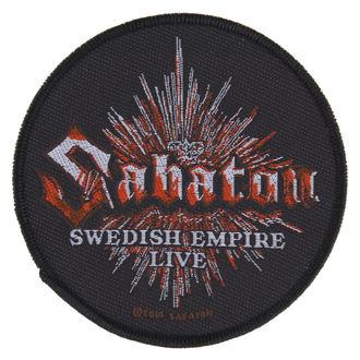 Petic SABATON - SWEDISH EMPIRE LIVE - RAZAMATAZ, RAZAMATAZ, Sabaton