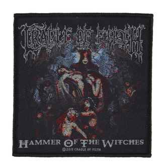 Petic CRADLE OF FILTH - HAMMER OF THE WITCHES - RAZAMATAZ, RAZAMATAZ, Cradle of Filth