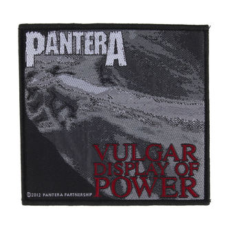 Petic PANTERA - VULGAR DISPLAY OF POWER - RAZAMATAZ, RAZAMATAZ, Pantera