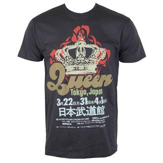 tricou stil metal bărbați Queen - TOKYO,JAPAN - BRAVADO, BRAVADO, Queen