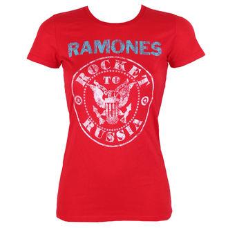 tricou stil metal femei Ramones - ROCKET RUSSIA - BRAVADO, BRAVADO, Ramones