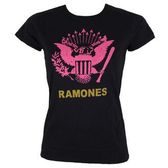 tricou stil metal femei Ramones - PINK EAGLE - BRAVADO, BRAVADO, Ramones