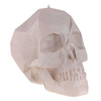 Lumânare Skull - Gray