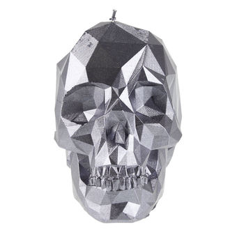 Lumânare Skull - Steel