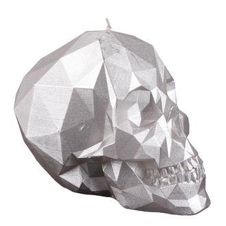 Lumânare Skull - Silver