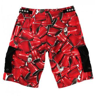 Pantaloni scurți bărbaţi (pantaloni scurți de înot) METAL MULISHA - CUPS, METAL MULISHA