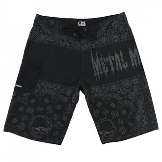 Pantaloni scurți bărbaţi ( pantaloni scurți de înot) METAL MULISHA - REPRESENT - BLK, METAL MULISHA