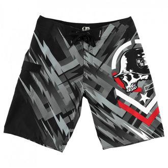 Pantaloni scurți bărbaţi (pantaloni scurți de înot) METAL MULISHA - SPARK - BLK, METAL MULISHA