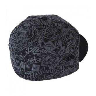 Şapcă bărbați METAL MULISHA - DETAIL - BLK, METAL MULISHA