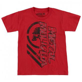 tricou de stradă bărbați copii - BURN - METAL MULISHA, METAL MULISHA