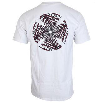 tricou de stradă bărbați - Spiral White - INDEPENDENT, INDEPENDENT
