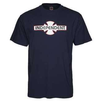 tricou de stradă bărbați - OGBC Navy - INDEPENDENT, INDEPENDENT