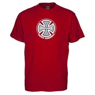 tricou de stradă bărbați - Truck Co Cardinal Red - INDEPENDENT, INDEPENDENT