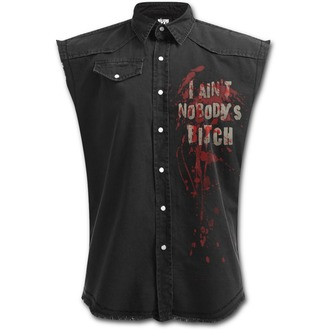 Cămaşă fără mâneci bărbați SPIRAL - DARYL WINGS - Walking Dead Stone, SPIRAL