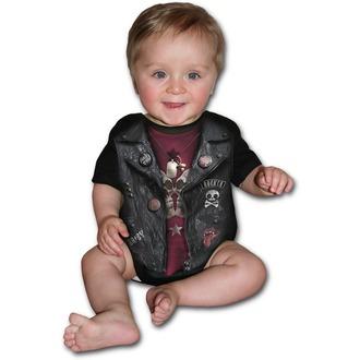 Bodysuit copii SPIRAL - BABY BIKER - Black, SPIRAL