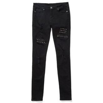 Pantaloni femei KILLSTAR - Lithium - Negru