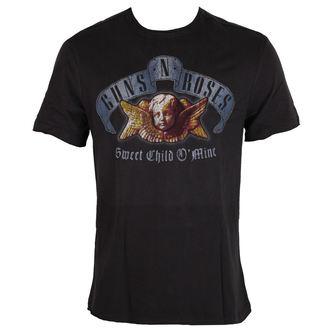 tricou stil metal bărbați Guns N' Roses - Guns N' Roses - AMPLIFIED, AMPLIFIED, Guns N' Roses