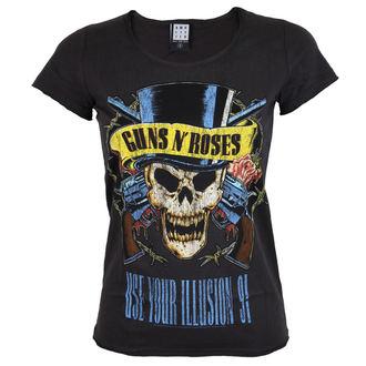 tricou stil metal femei Guns N' Roses - Guns N' Roses - AMPLIFIED, AMPLIFIED, Guns N' Roses