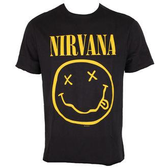 tricou stil metal bărbați Nirvana - NIRVANA - AMPLIFIED - ZAV210NIF