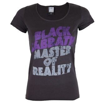 tricou stil metal femei Black Sabbath - BLACK SABBATH MASTER OF REALITY - AMPLIFIED, AMPLIFIED, Black Sabbath