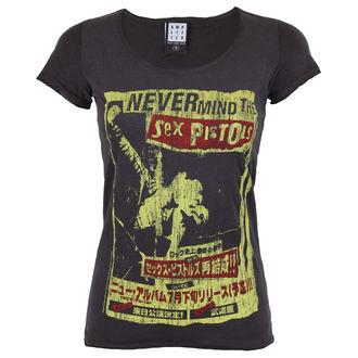 tricou stil metal femei Sex Pistols - SEX PISTOLS - AMPLIFIED, AMPLIFIED, Sex Pistols