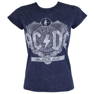 tricou stil metal femei AC-DC - Black Ice - ROCK OFF, ROCK OFF, AC-DC